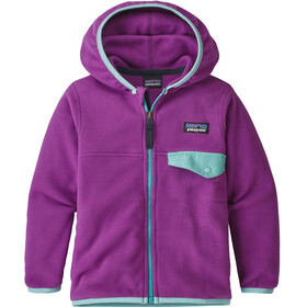 Patagonia Kids Micro D Snap-T Jacket Ikat Purple